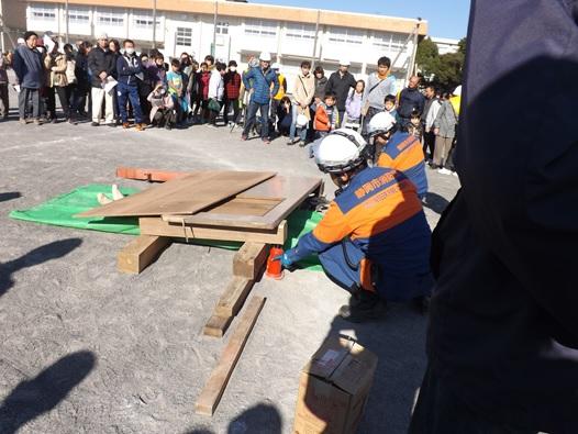 地域の防災訓練